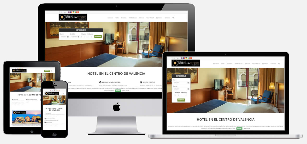 Hotel Web Page Template