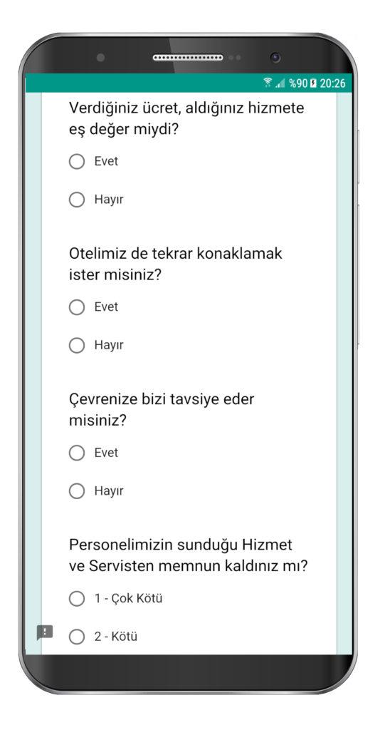 Online Hotel Survey